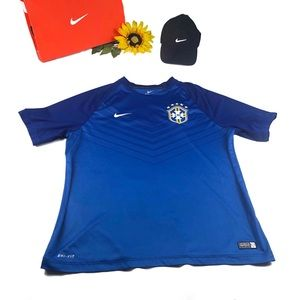 Nike CBF Authentic Training Brasil Shirt Jersey
